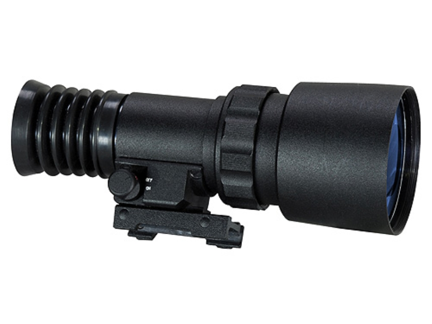 ATN PS22-CGT Generation Night Vision Front Mounted Daytime Rifle Scope System with Integral Weaver-Style Mount Matte
