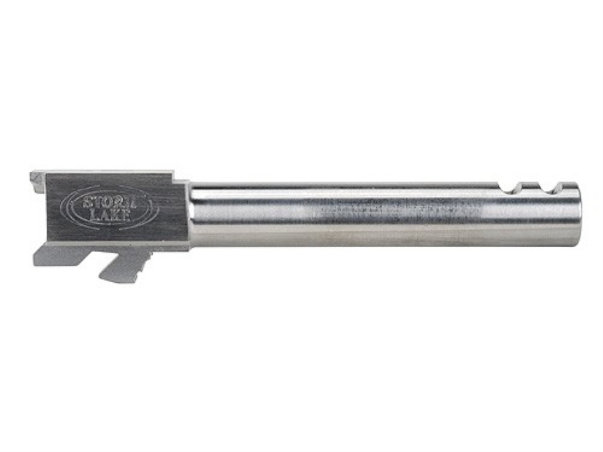 """Storm Lake Barrel Glock 19 9mm Luger 1 in 16"""" Twist  4.72"""" Stainless Steel with 2-Ports"""