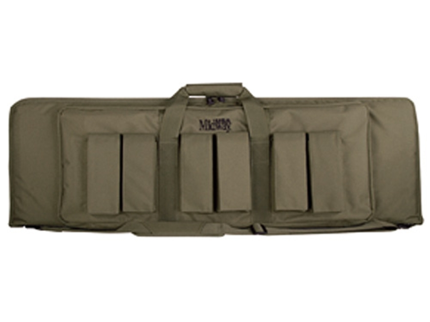 "MidwayUSA Pro Series Tactical Rifle Case 43"" PVC Coated Polyester Olive Drab"