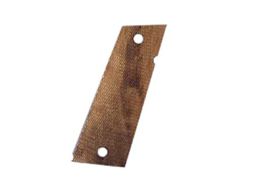 Hogue Fancy Hardwood Grips Caspian Double Stack Checkered