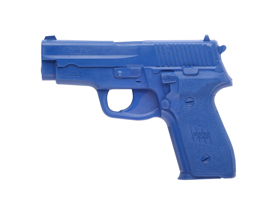 BlueGuns Firearm Simulator Sig Sauer P228 Polyurethane Blue