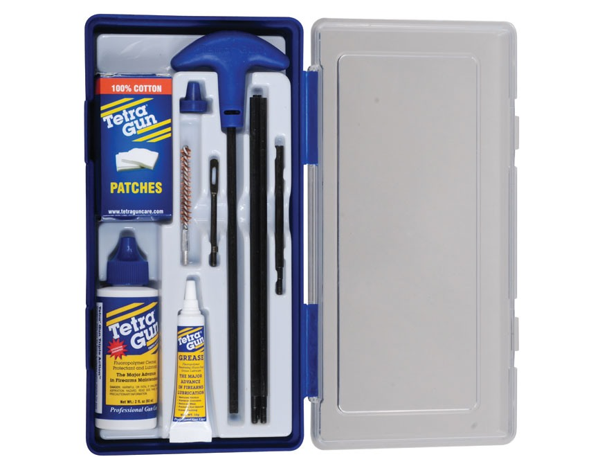 Tetra Gun ValuPro III Rifle Cleaning Kit 22, 223 Remington, 5.56mm NATO in Hard Plastic Container