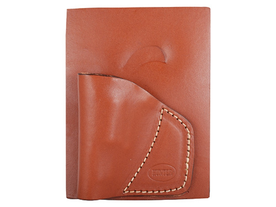 "Hunter 2500 Pocket Holster Right Hand North American Arms Mini Revolver 1-5/8"" Barrel 22 Caliber Leather Chestnut Tan"