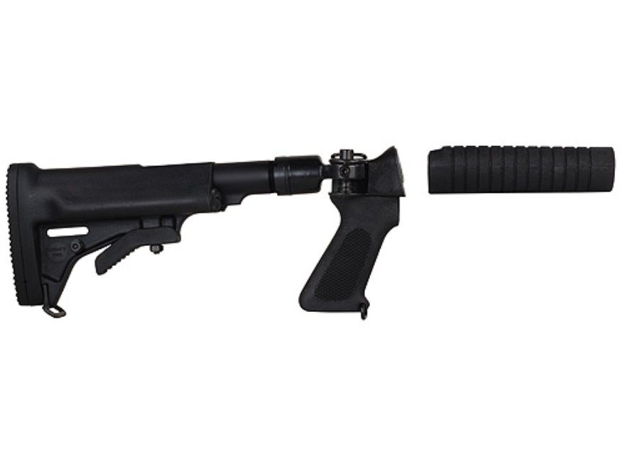 Choate Adjustable Side Folding Stock Remington 870 12 Gauge Steel and Composite Black