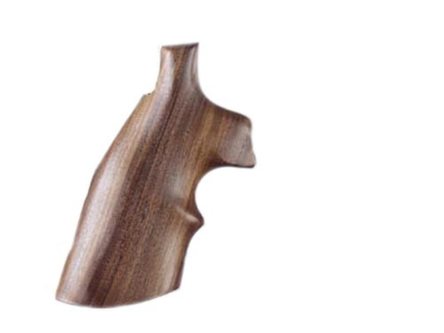 Hogue Fancy Hardwood Grips with Top Finger Groove Ruger Redhawk