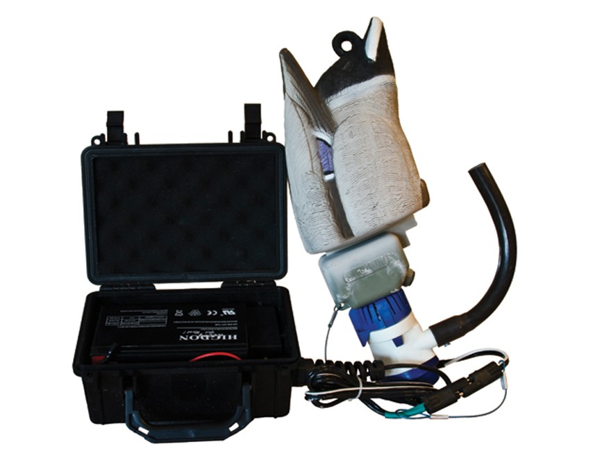 Higdon Pulsator 2 Drake 12 Volt Motion Duck Decoy Polymer