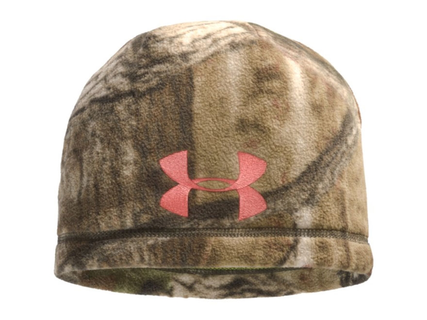 Under Armour Women's Scent Control Beanie Polyester Mossy Oak Break-Up Infinity Camo
