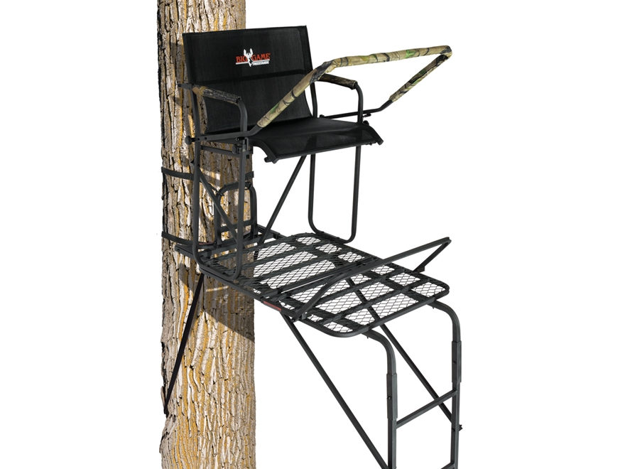 Big Game The Maxim Single Ladder Treestand Steel