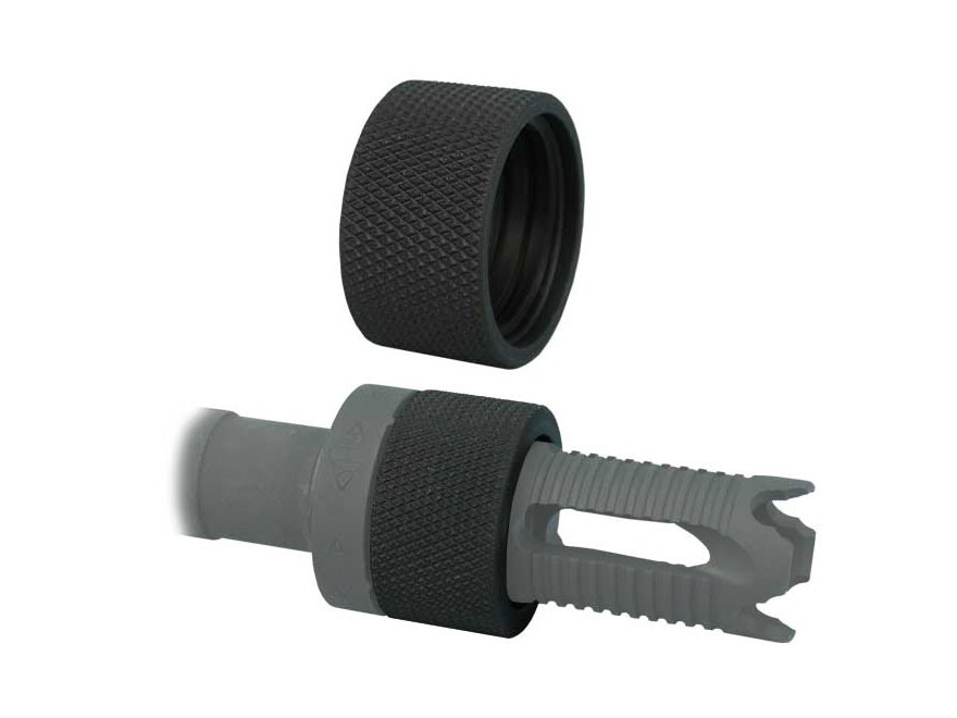 Yankee Hill Machine QD Thread Protector for Phantom Muzzle Brakes & Flash Hiders with Quick Detach Mount Parkerized