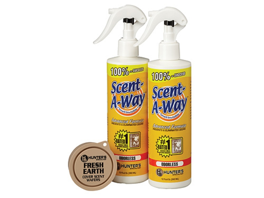 Hunter's Specialties Scent-A-Way Scent Elimination Combo Pack