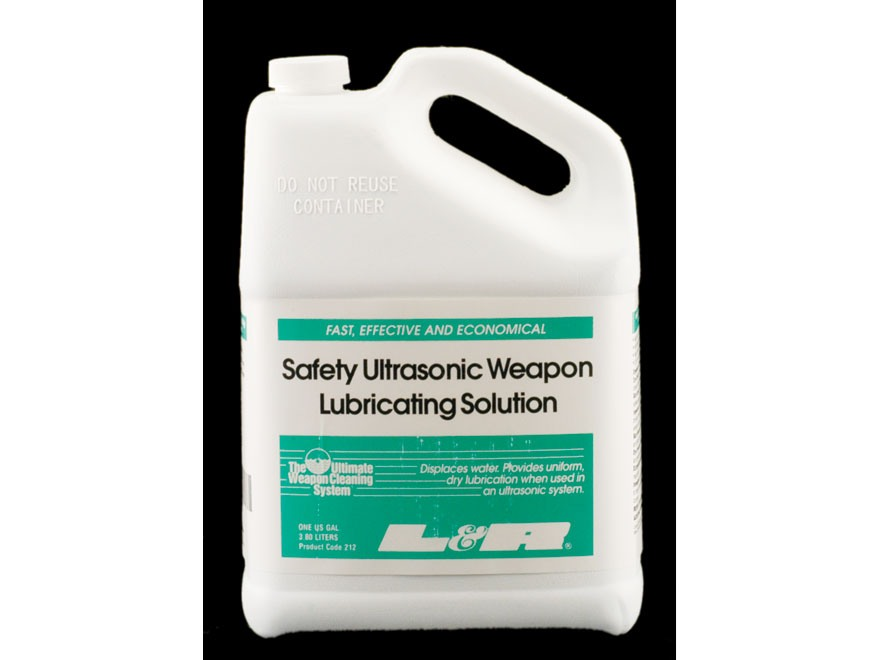 L&R Ultrasonics Firearm Lubricating Solution 1 Gallon