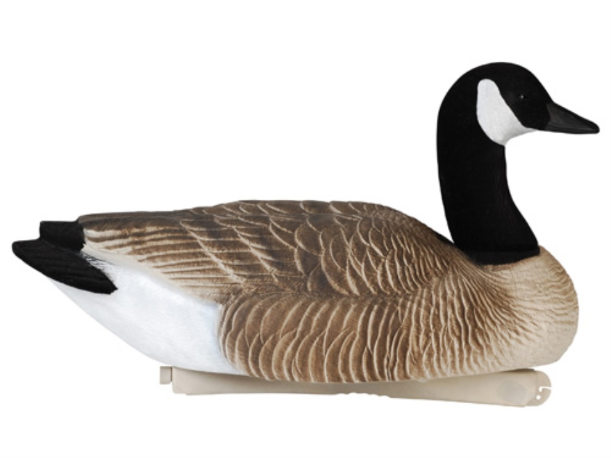 Tanglefree Pro Series Weighted Keel Canada Goose Decoys Flocked Heads and Tails Pack of 4