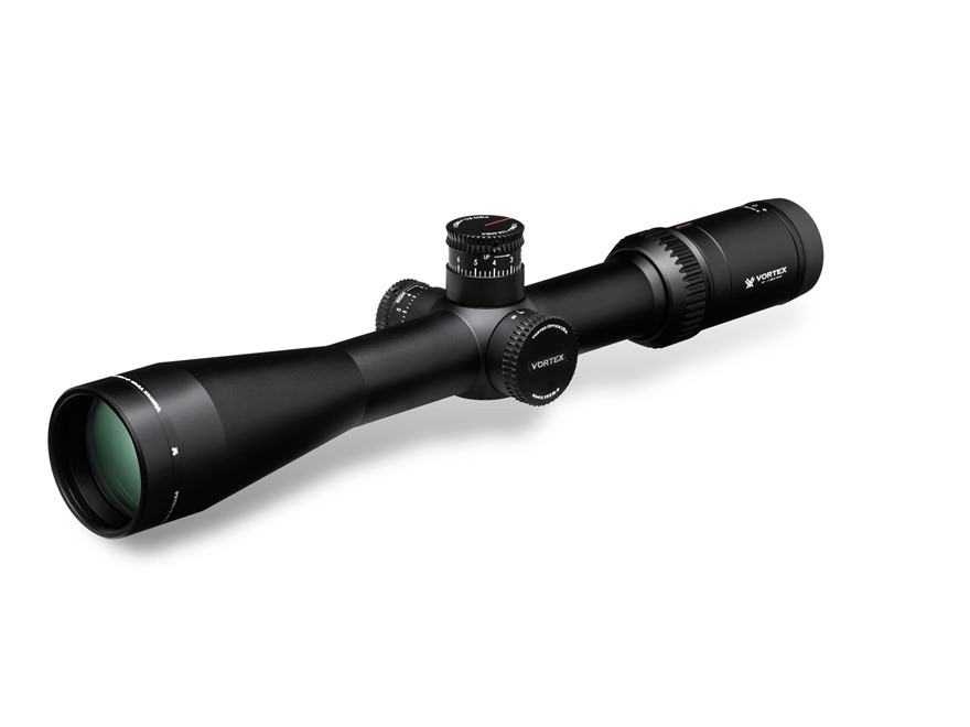 Vortex Optics Viper HS-T Rifle Scope 30mm Tube 4-16x 44mm Side Focus VMR-1 MOA Reticle Matte