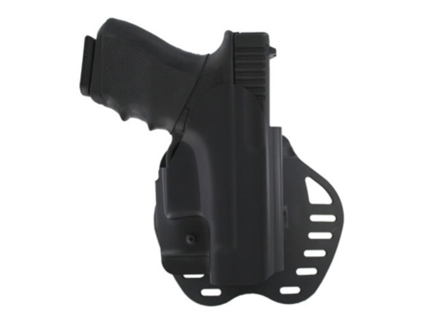 Hogue PowerSpeed Concealed Carry Holster Outside the Waistband (OWB) Glock 26, 27, 33, 37 Black
