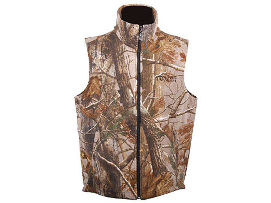 Stormkloth II Men's SKII Waterproof Fleece Vest Polyester Realtree AP Camo Medium