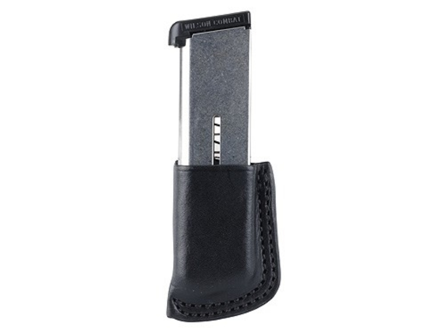 Wilson Combat Single Magazine Pouch 1911 Leather Black