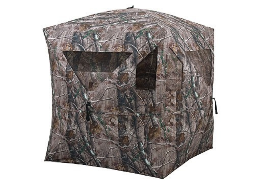 "Ameristep Backstrap Ground Blind 64"" x 64"" x 62"" Polyester Realtree AP ..."