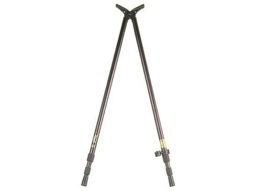 "Stoney Point PoleCat Bipod Shooting Sticks Expedition 36"" to 65"" Black"