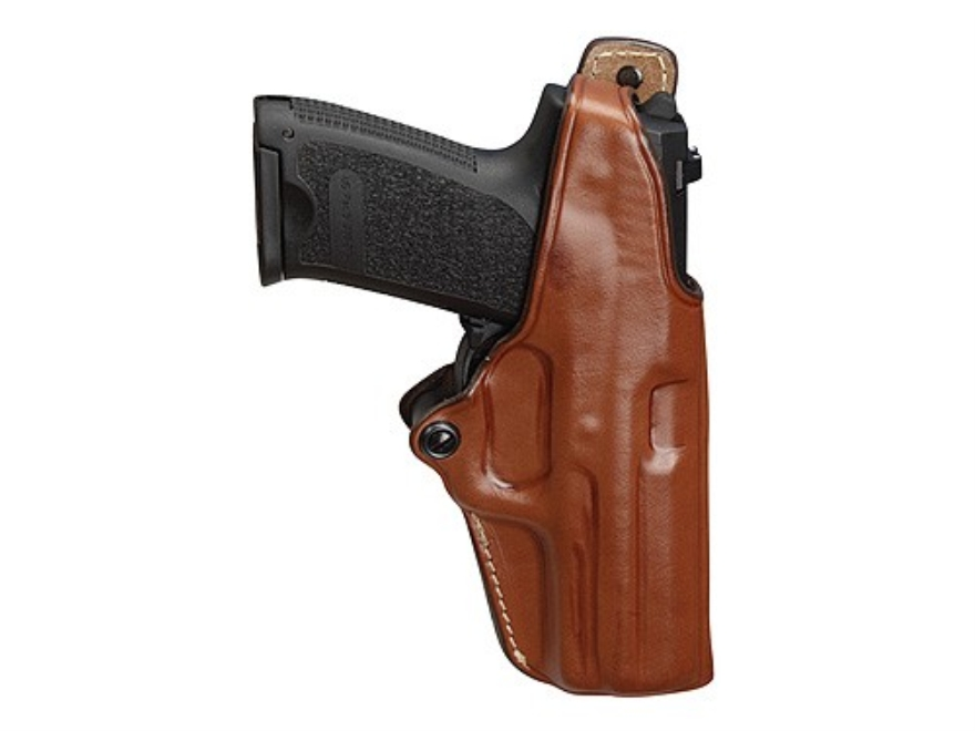 Hunter 4900 Pro-Hide Crossdraw Holster Right Hand S&W 4006 Leather Brown