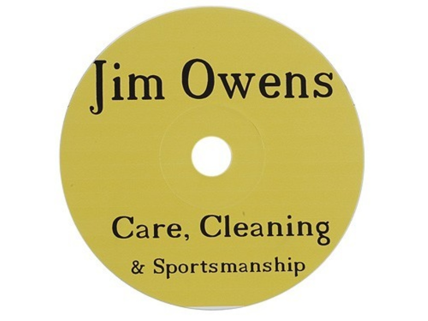 "Jim Owens ""Care, Cleaning and Sportsmanship"" CD-ROM"