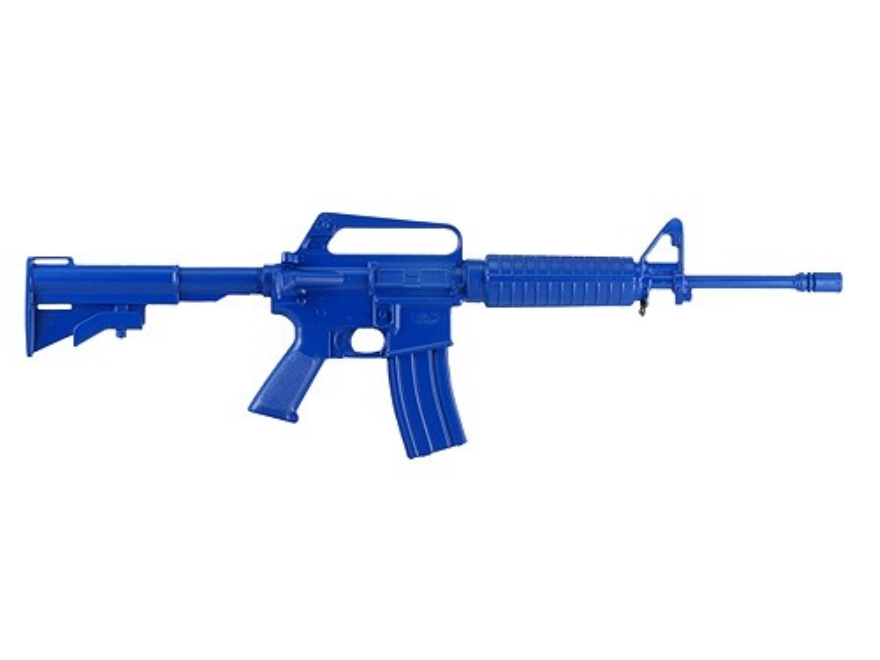 BlueGuns Firearm Simulator CAR-15 Polyurethane Blue