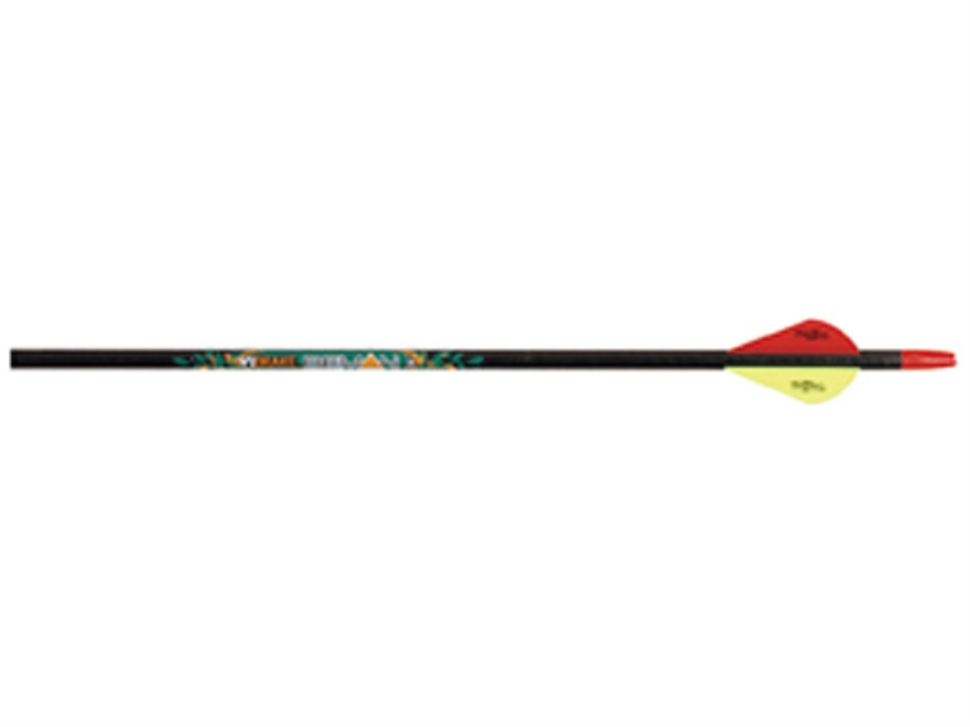 "Beman ICS Hunter 340 Carbon Arrow 2"" Blazer Vanes Black Pack of 12"