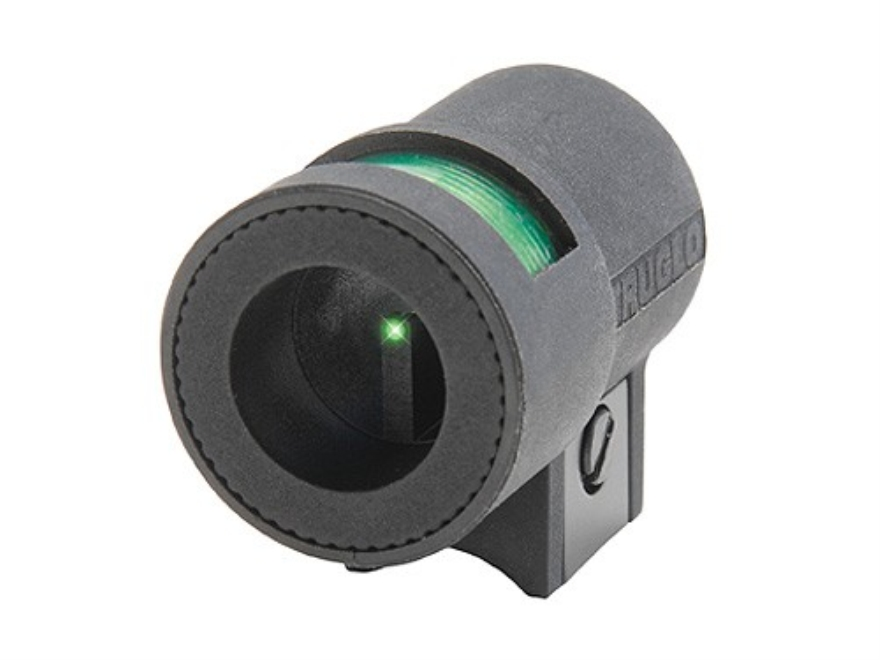 TRUGLO Airgun Globe Front Sight Universal Fits Front Dovetail Fiber Optic Green