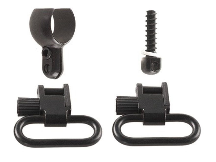 "Shooters Ridge Sling Lok Quick-Detachable Sling Swivel Set Winchester 94, Marlin 336 1"" Black"
