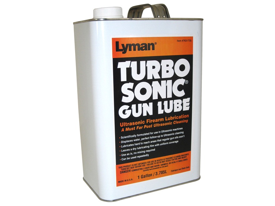 Lyman Turbo Sonic Ultrasonic Gun Lubricant 1 Gallon Liquid