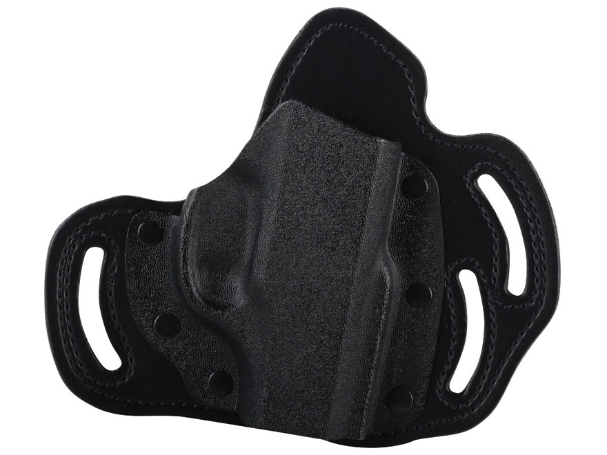 DeSantis Intimidator Belt Holster Right Hand Ruger LC9 Kydex and Leather Black