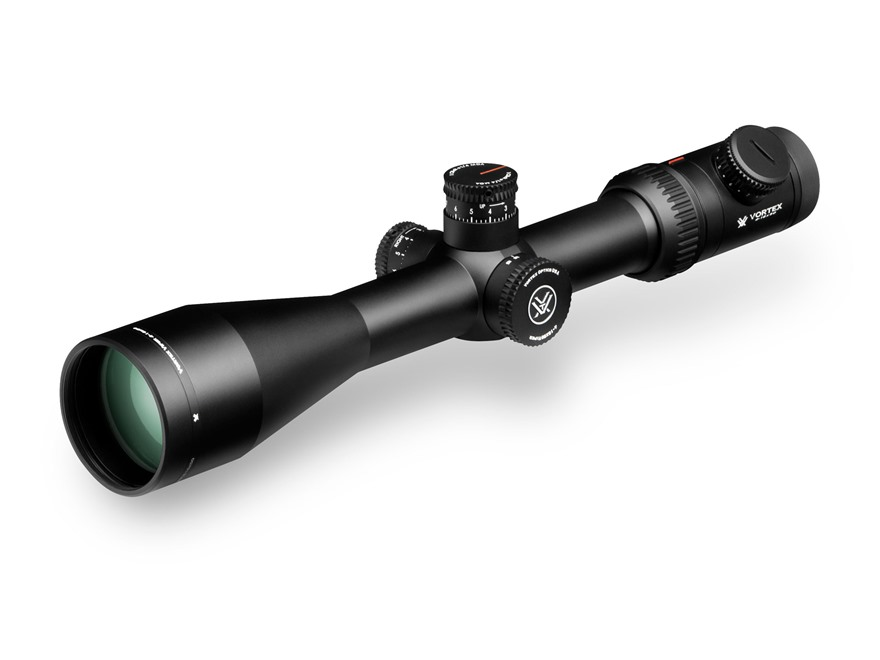 Vortex Optics Viper PST Rifle Scope 30mm Tube 4-16x 50mm Side Focus Illuminated EBR-1 MOA Reticle Matte