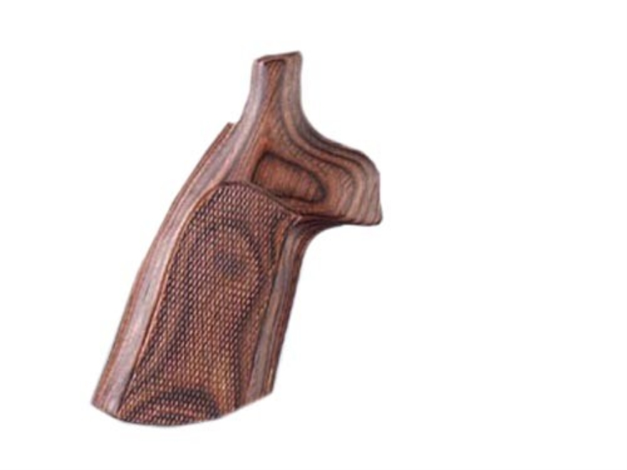 Hogue Fancy Hardwood Grips Ruger Speed Six Checkered