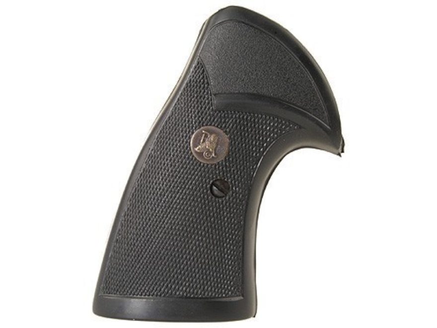 Pachmayr Presentation Grips S&W N-Frame Square Butt Rubber Black