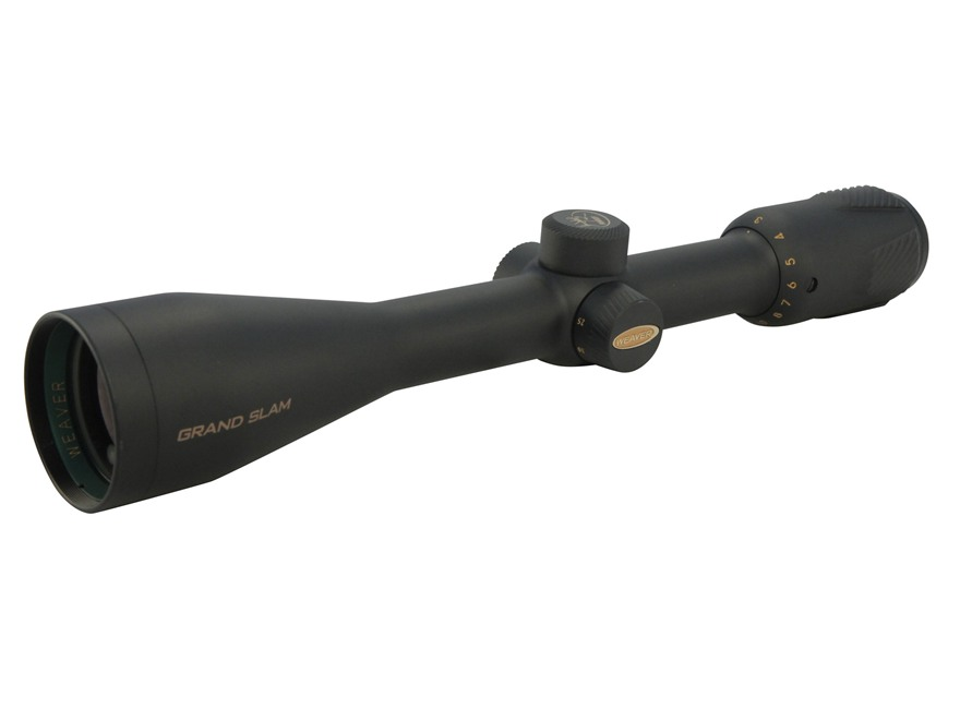 Weaver Grand Slam Rifle Scope 3-12x 42mm Side Focus Matte