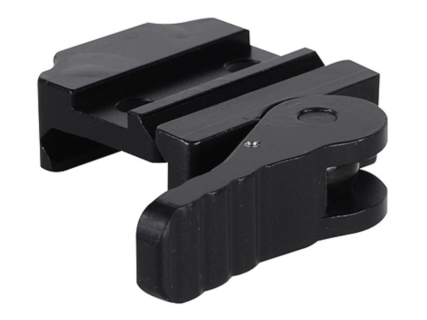 American Defense AD-20 Mini Quick-Release Leupold Prismatic Sight Mount Picatinny-Style AR-15 Flat-Top Matte