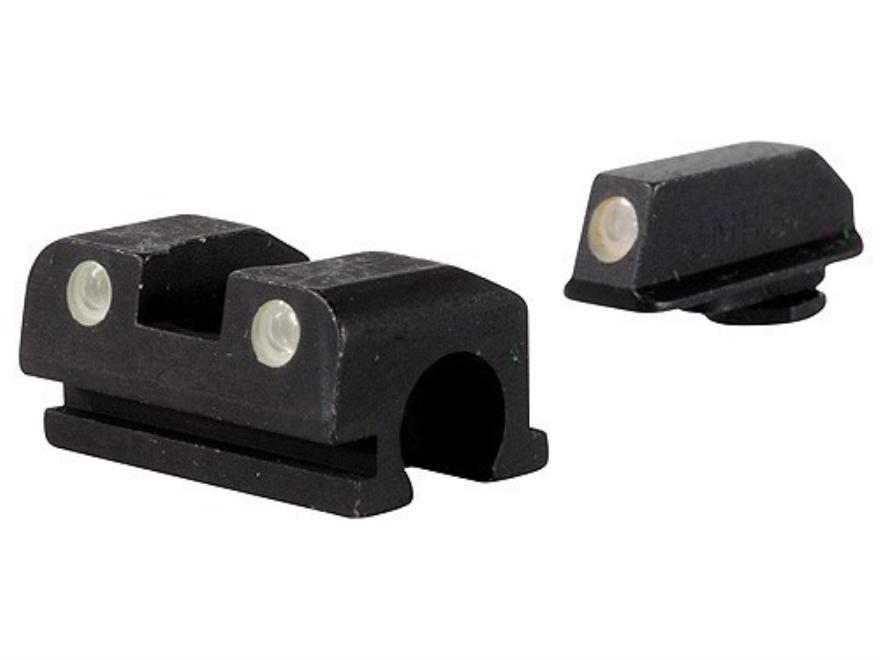 Meprolight Tru-Dot Sight Set Walther P99 Full Size Steel Blue Tritium Green