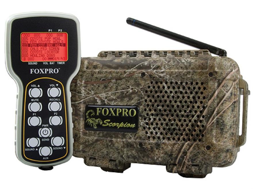 FoxPro Scorpion X1-B Electronic Predator Call with 50 Digital Sounds