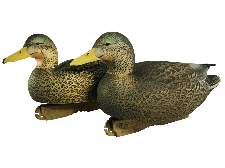 GHG Pro-Grade Active Pack Hybrid Black Duck Decoy Pack of 2