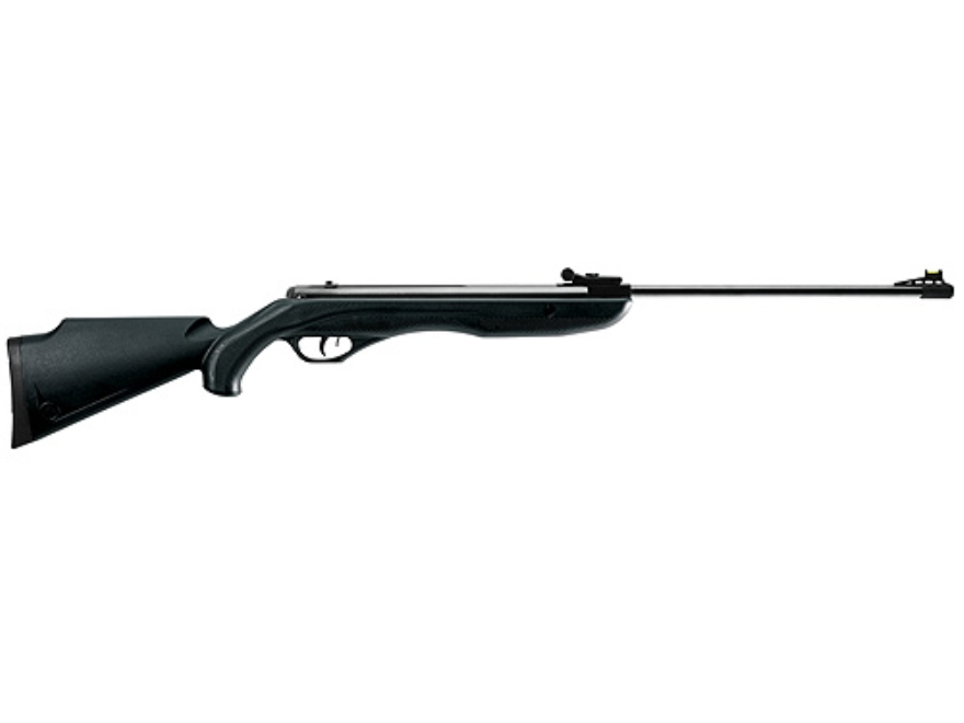Crosman Phantom Air Rifle 177 Caliber Pellet Black Synthetic Stock Matte Barrel Matte