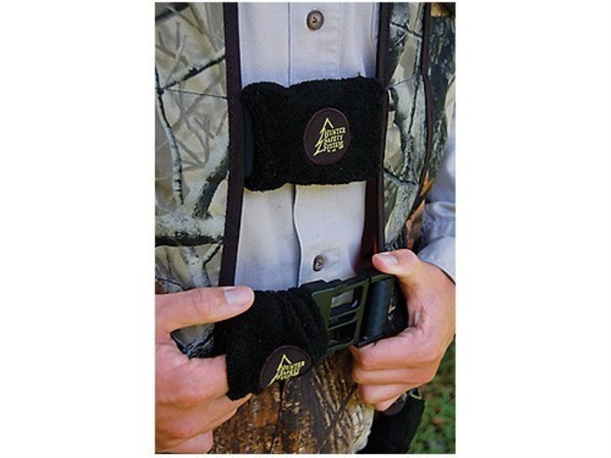 Hunter Safety System Buckle Silencing System Black Pack of 8