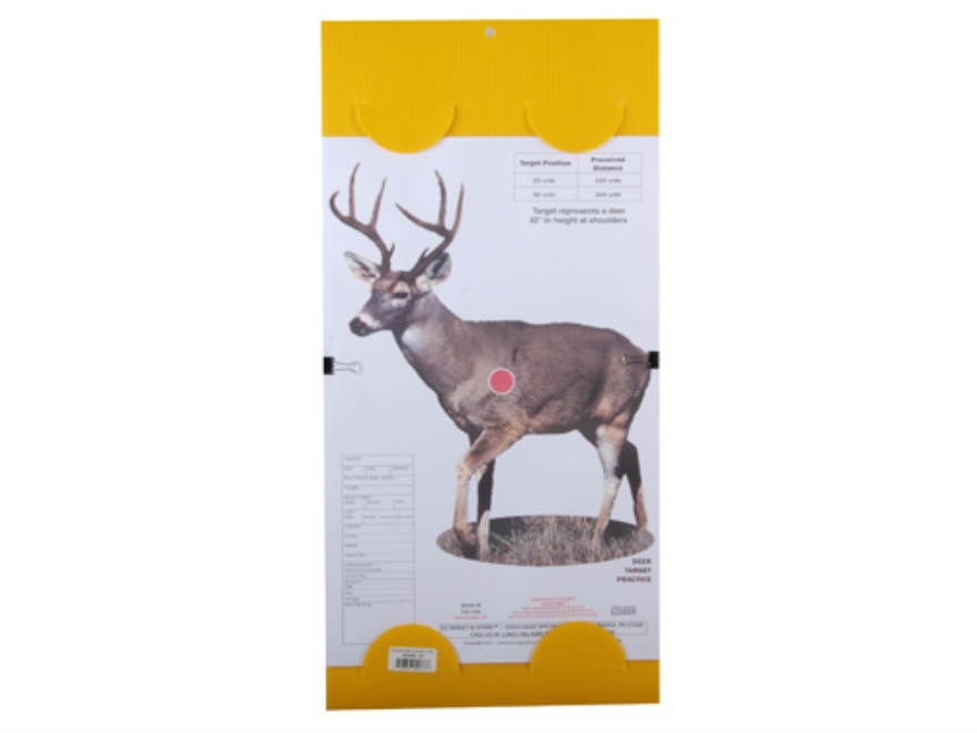"EZ Target Deer Replacement Pad Target 14"" x 18"" Paper Package of 15"