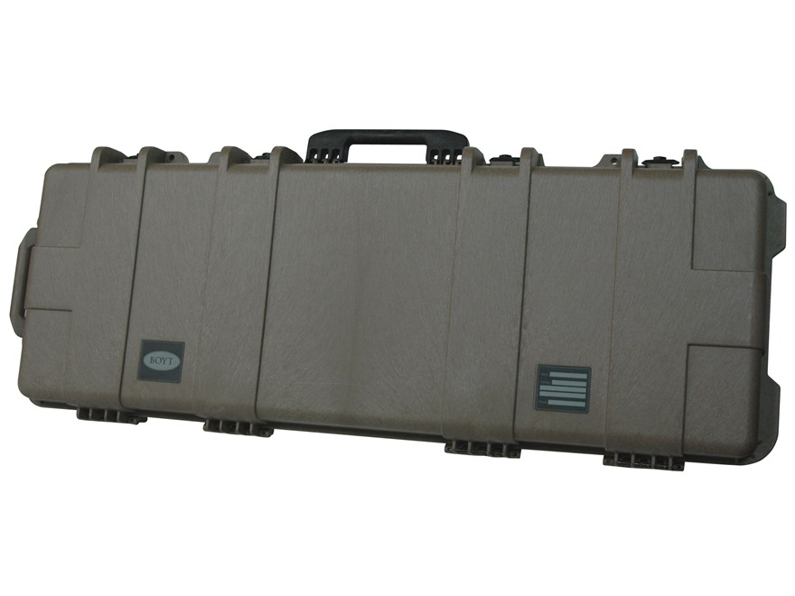 "Boyt H44 Rifle Case with Foam Insert and Wheels 47"" x 17-1/2"" x 7"" Polymer Flat Dark Earth"