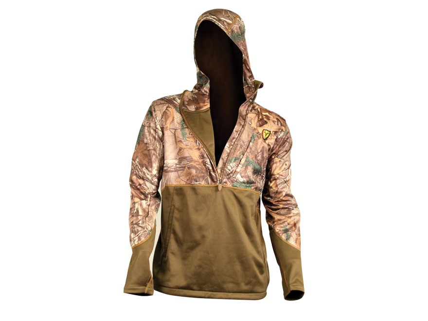 ScentBlocker Men's Edge 1/2 Zip Pullover Polyester