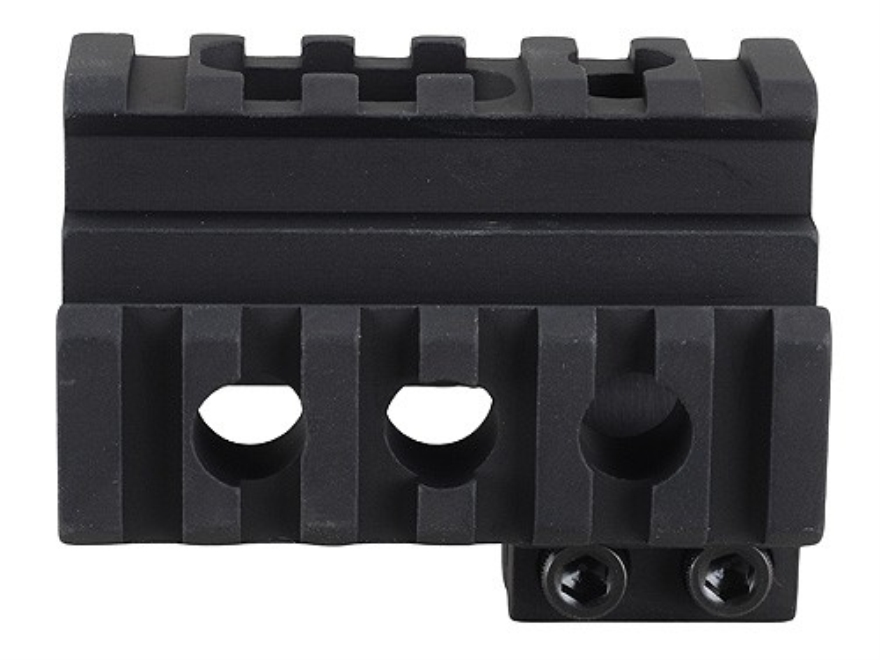 Yankee Hill Machine Picatinny 3-Rail Front Sight Mount AR-15 Aluminum Matte