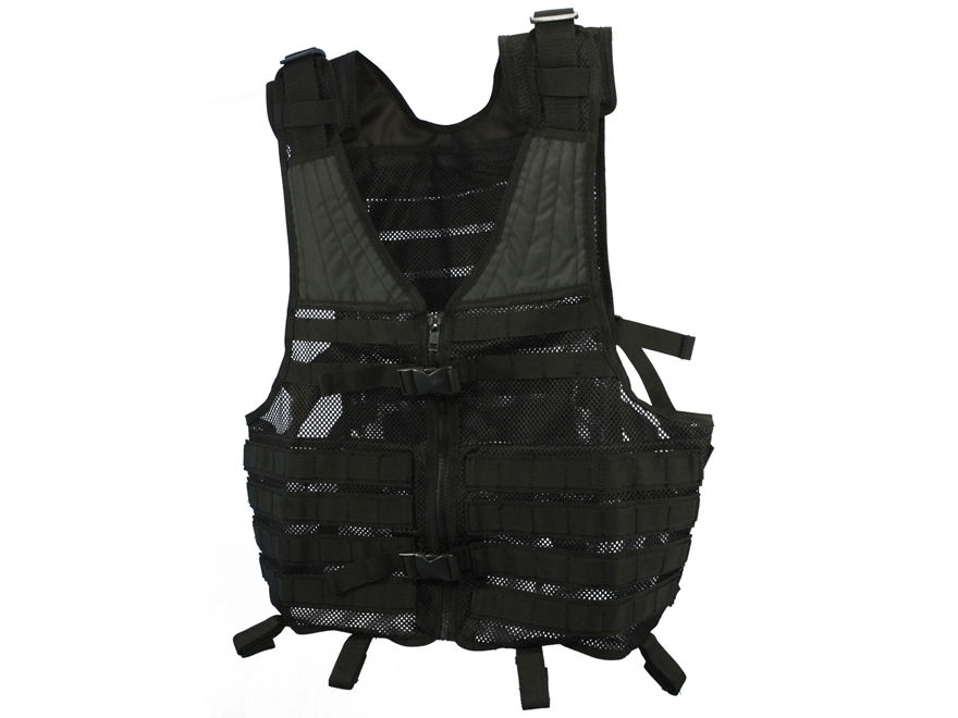 MidwayUSA Tactical Vest Black