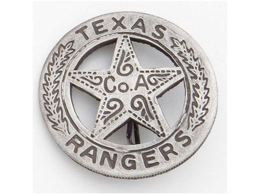 Collector's Armoury Replica Old West Railroad Deluxe Texas Ranger Badge