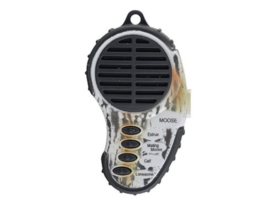 Cass Creek Mini Electronic Moose Call with 4 Digital Sounds