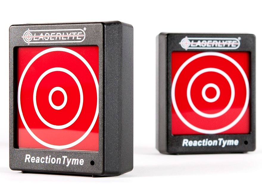 LaserLyte LTS Reaction Tyme Laser Trainer Target Pack of 2