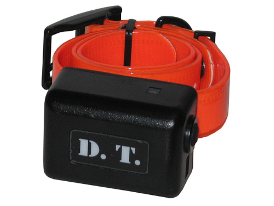 D.T. Systems Add-On Dog Training Collar for H2O 1800 Plus Series Orange