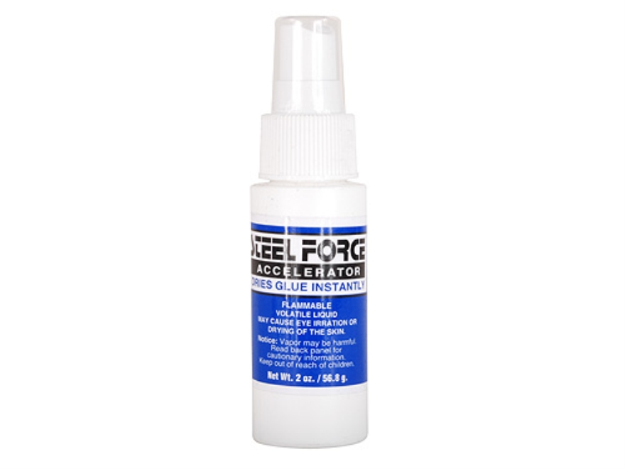 Steel Force Beyond Bond Accelerator Arrow Fletching and Insert Adhesive Accelerator 2 o...